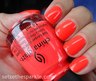 Red-y to Rave by China Glaze