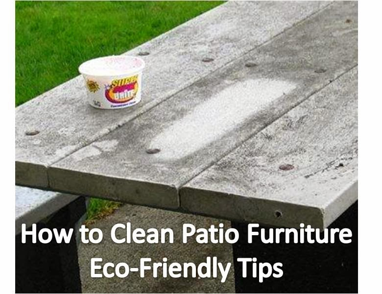 Quick n Brite Quick Cleaning Tips: How to Clean Patio Furniture ...