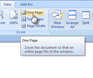 Ms View One Page Cara Membuat Kartu Ucapan dengan MS Word dengan mudah
