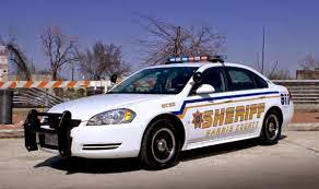 A Harris County Sheriff patrol car.