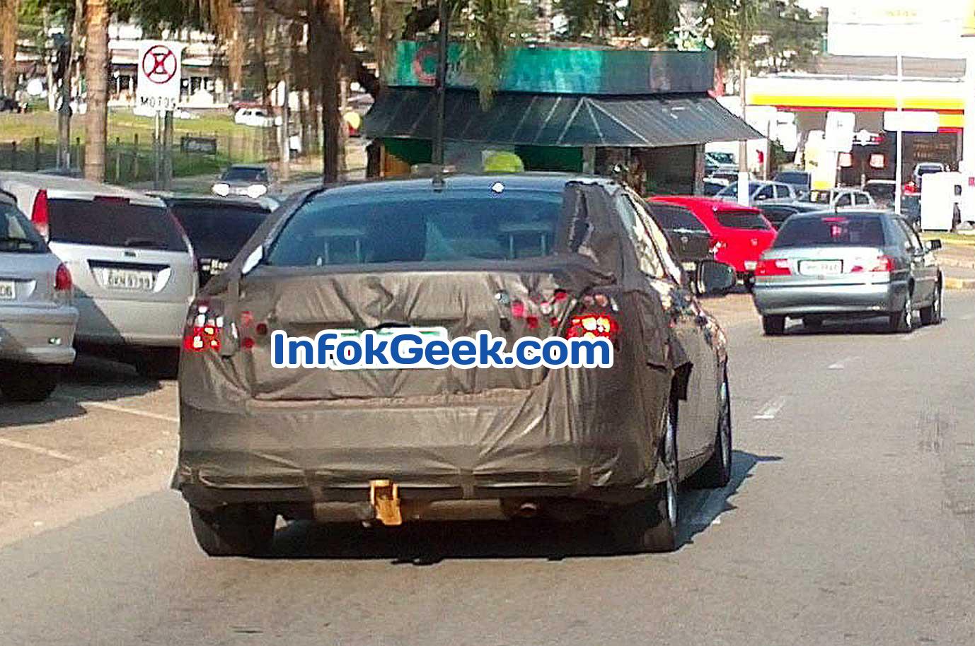 Nuevo Ford Focus 2013 haciendo pruebas en Brasil y Argentina