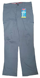 Wrangler FR 32 X 30 Dark Tint Cotton Polyester Spandex Flame Resistant Jeans With Zipper Front Closure