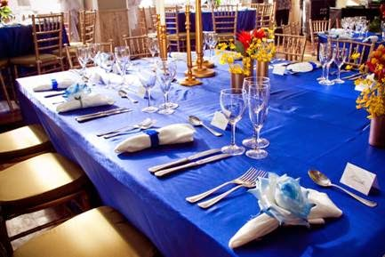 almoço comemorativo das bodas de safira