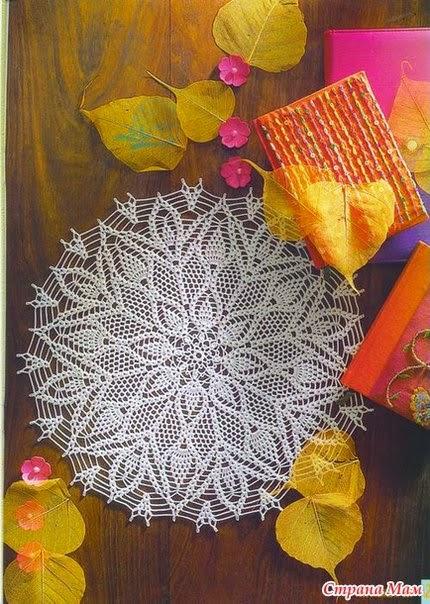 3 Carpetas crochet