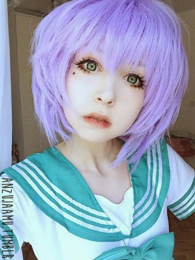 Be a Fairy with I.Fairy Nova Green Lenses & Lilac Cosplay Wig