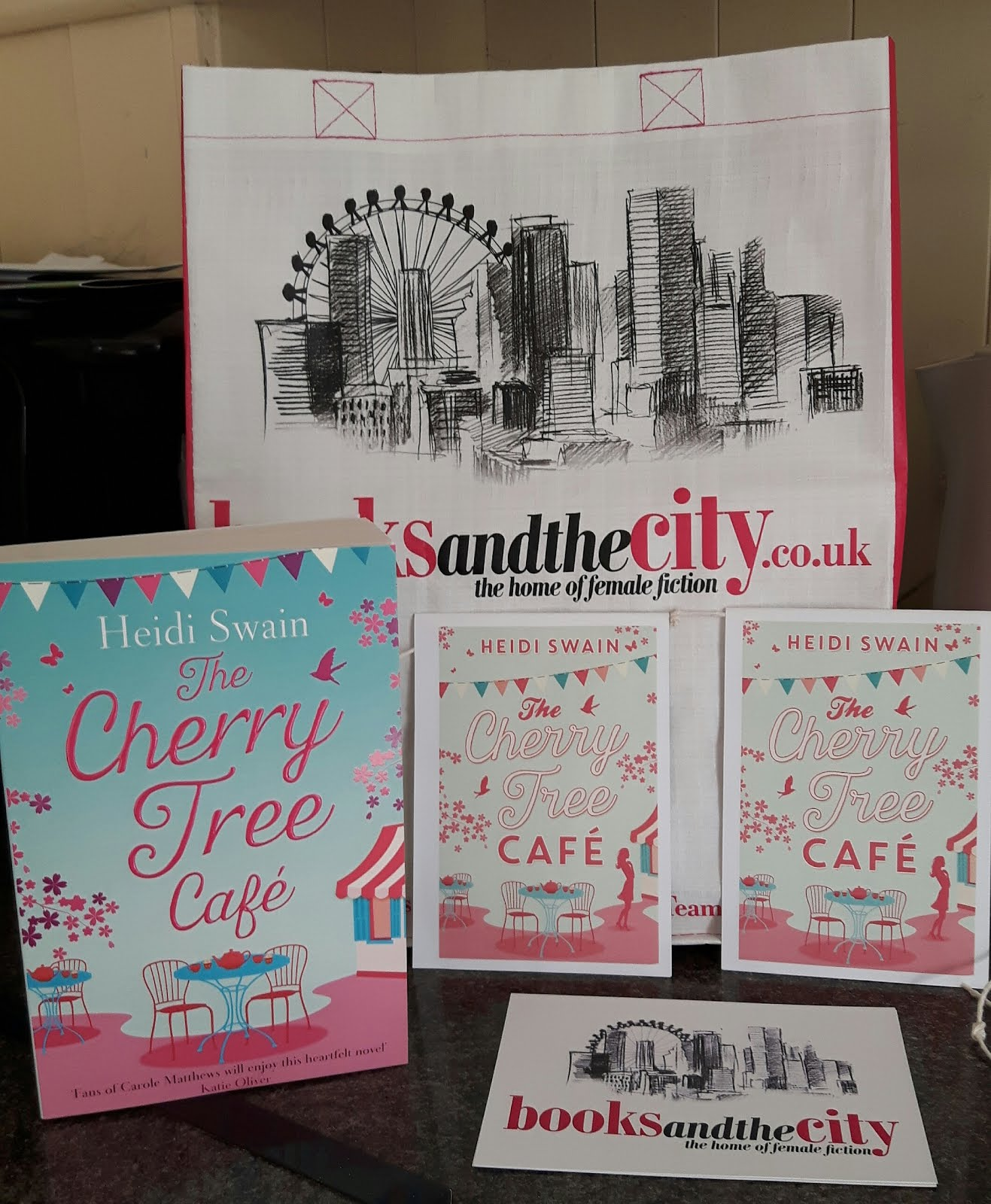 Cherry Tree Cafe Paperback Giveaway - closing date July 11th
