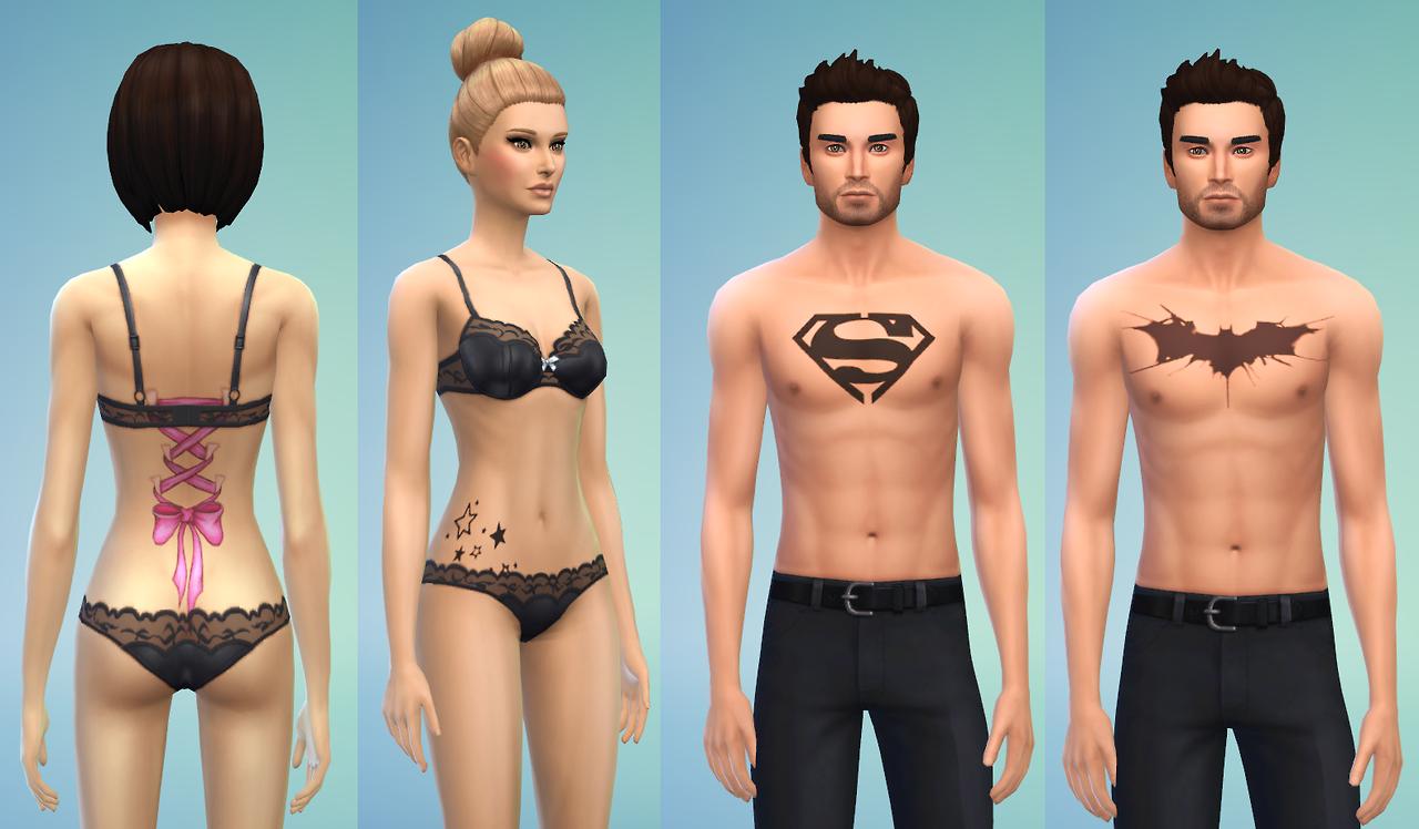 Mod bikini the sims nackt photos