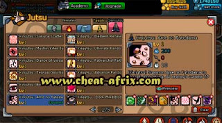 Sell Char Ninja Saga + PNS (Complete Clan Reward)