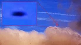 OVNI monte, ensuite l'accélération dans le ciel, ce 10 novembre 2013