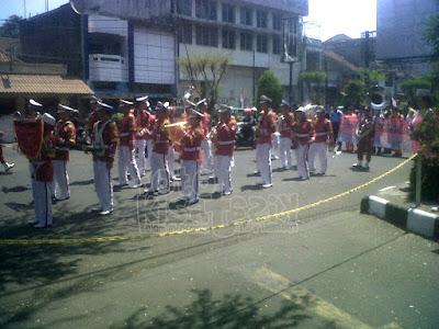 Paway memperingati hari kemerdekaan Indonesia disepanjang jalan HZ Mustofa Tasikmalaya | Kisatasik