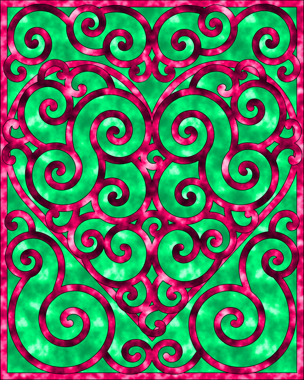 Swirly Coloring Pages Are Always Fun To Draw And With Valentines Day Coming Up I Thought You Might Like A Heart Color Click On The Image For Larger
