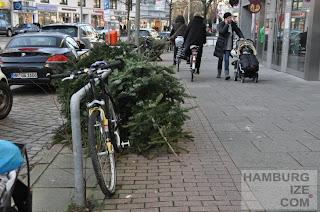 Gehwegradeln Eppendorfer Baum