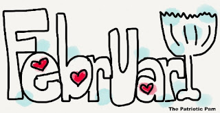 Clip Art picture of February