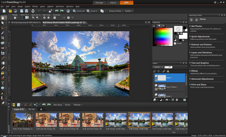 Как вшопе corel photo-paint x3 сделать чтобы фо