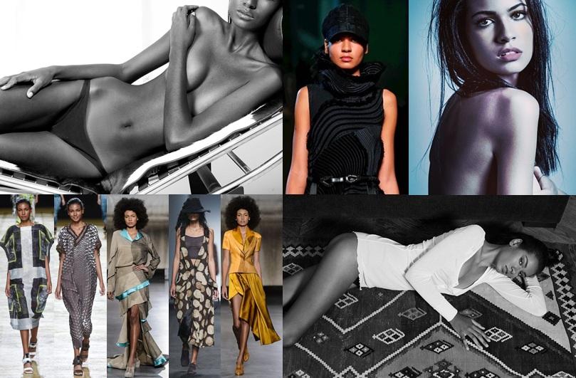 Modelo brasileira que reside em Paris mostra muito charme comprova toda competência nos vários desf