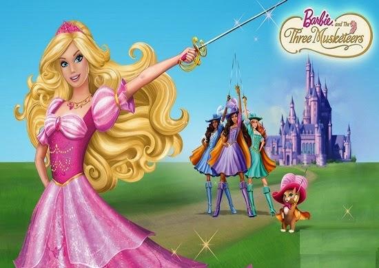 Montre complet barbie et les trois mousquetaires 2009 - Barbie et les 3 mousquetaires ...