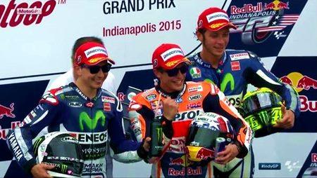 MotoGP Indianapolis 2015 seru dan menegangkan