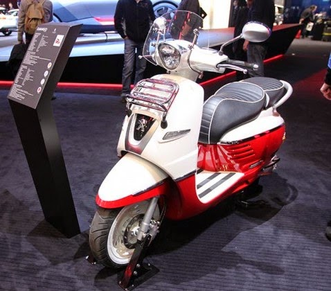 Peugeot Django Warm Your Vespa Competition in Indonesia