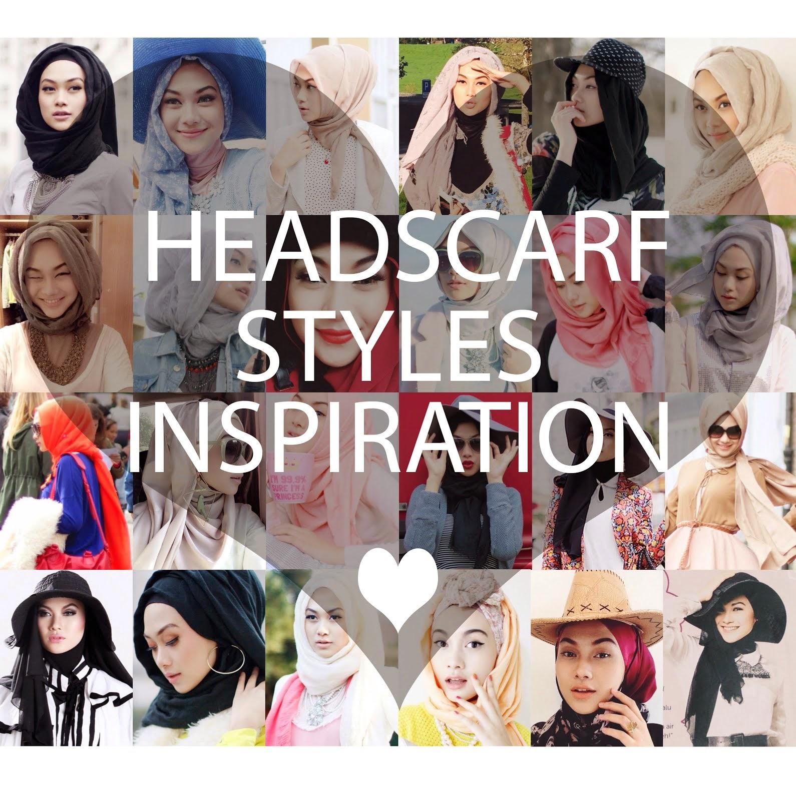 HEADSCARF STYLES INSPIRATION