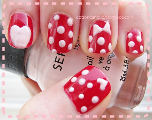 Simple nail art designs for short nails videos prinsesfo Gallery