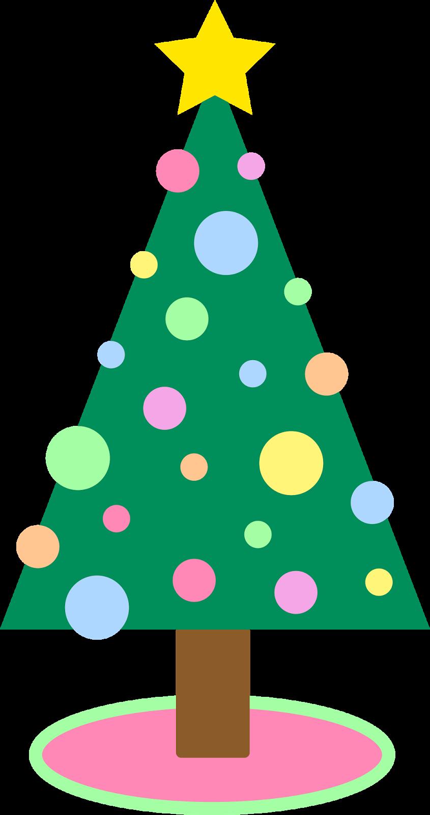 Holidays Christmas Tree Simple Pastel