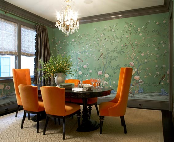 Magnificent Orange and Green Dining Room 566 x 464 · 54 kB · jpeg