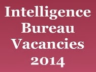 Intelligence Bureau Vacancies 2014 image
