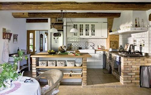 Punto sanitario decoraci n cocinas r sticas for Disenos de cocinas campestres