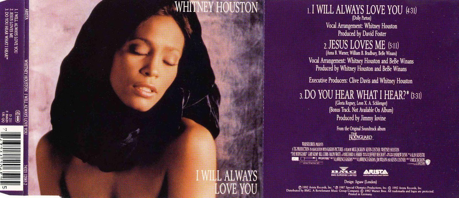 Whitney houston i will always love you lyrics