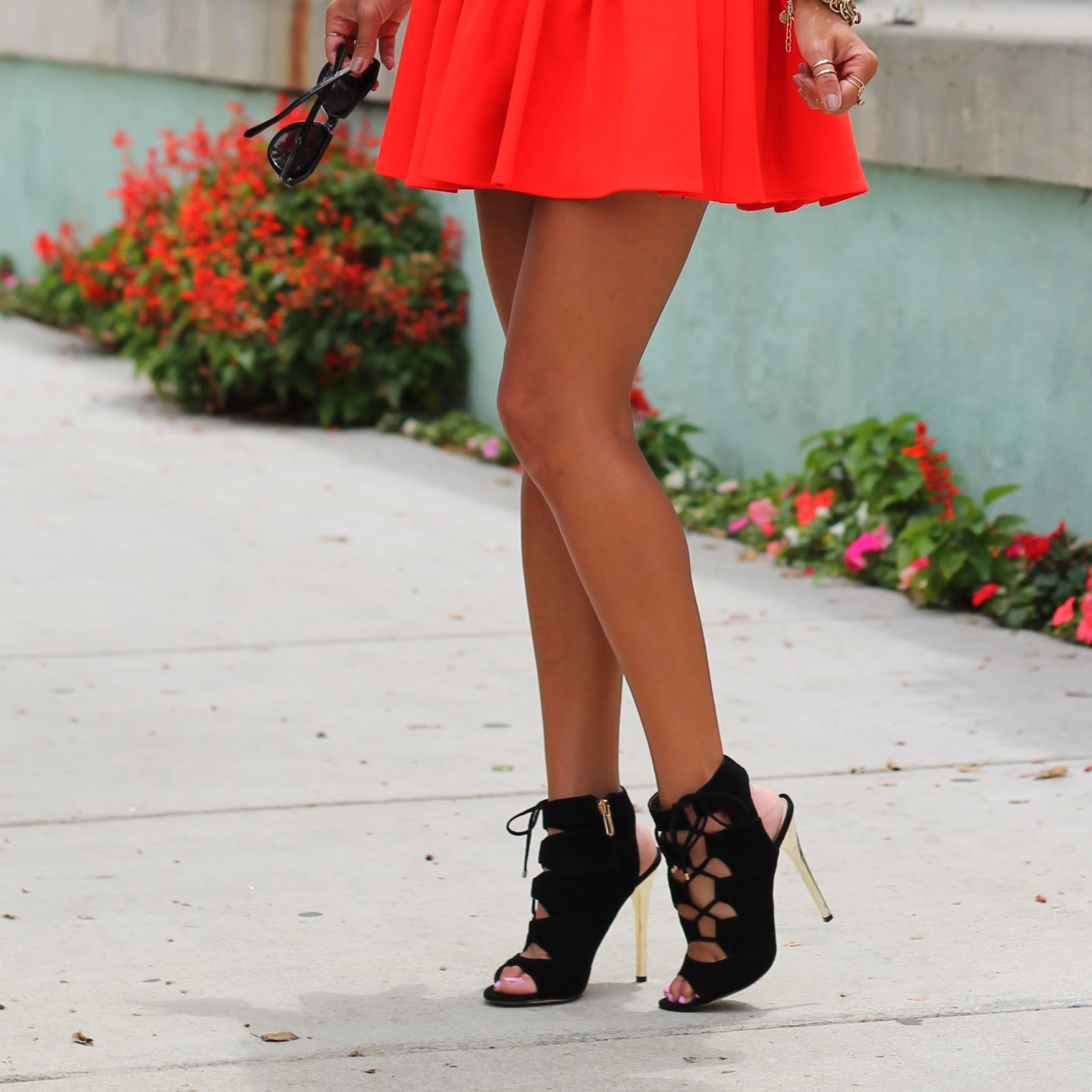 lovers and friend dress, what is fashion, sam edelman heels, iggy azalea dress