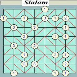 GOKIGEN or Slalom Puzzle Generator