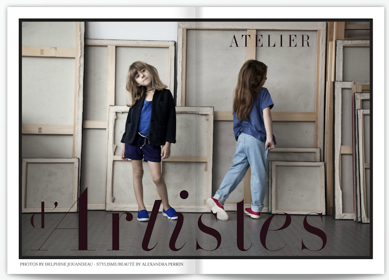 ATELIER D'ARTISTES - MAGAZINE SMALLABLE PRINTEMPS 2013