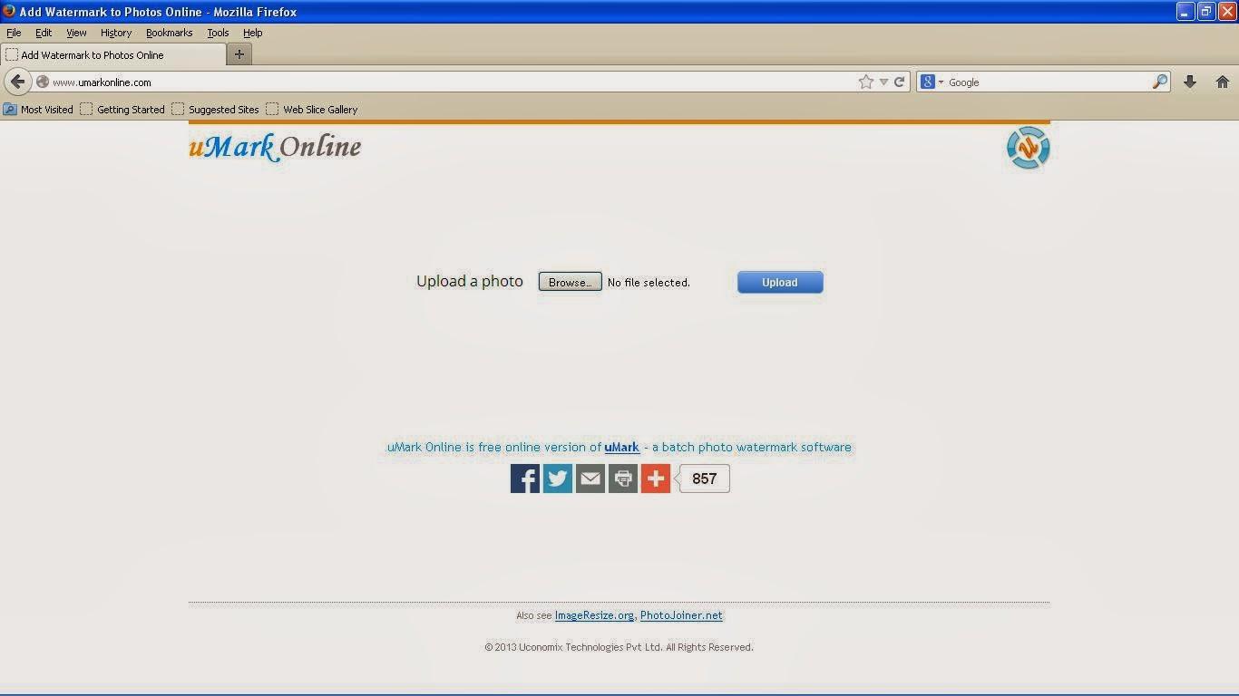 Tampilan Website umarkonline.com