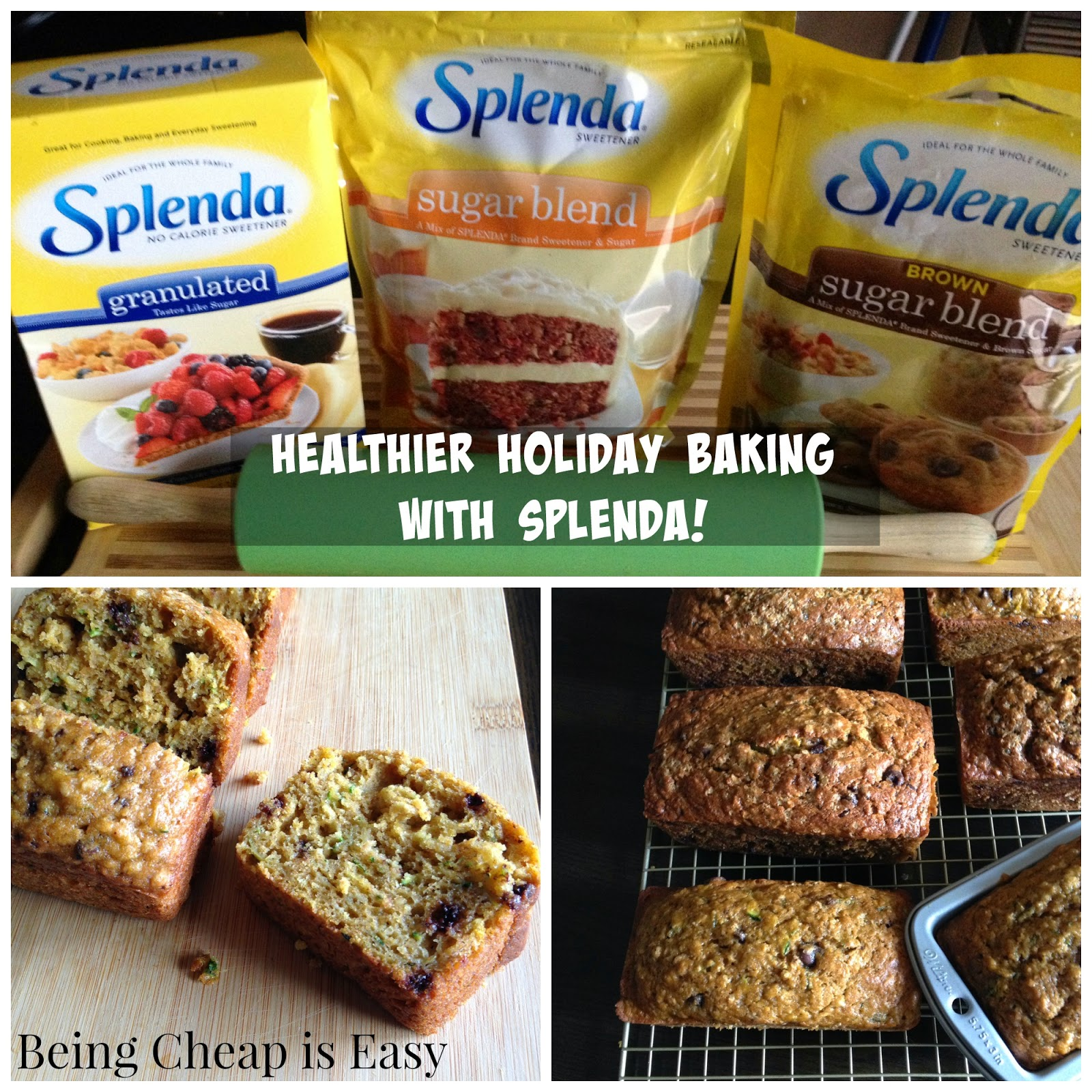 #HealthyEssentials, Splenda, holiday baking, baking with sugar substitutes, #ad