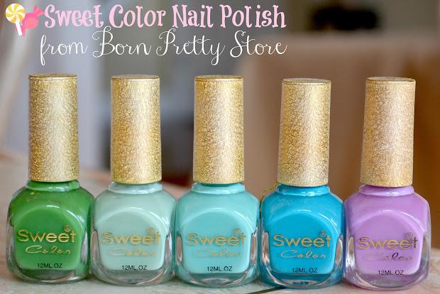 nails views sweet color nail polish