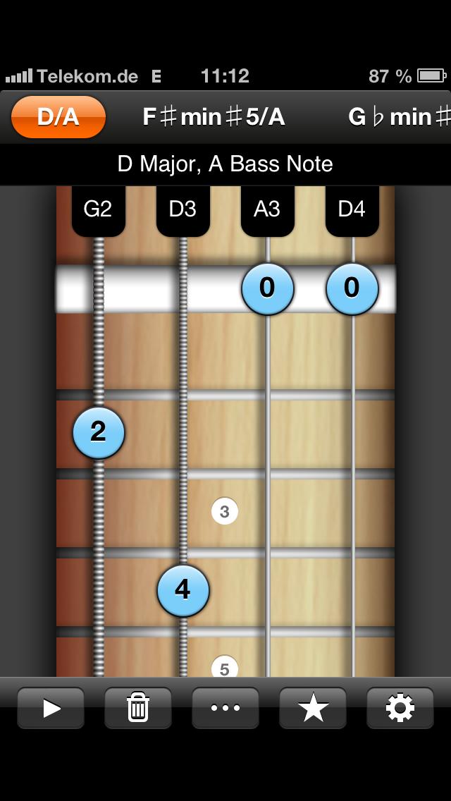 Irish Bouzouki Reverse Chord Finder Pro Iphoneipad App