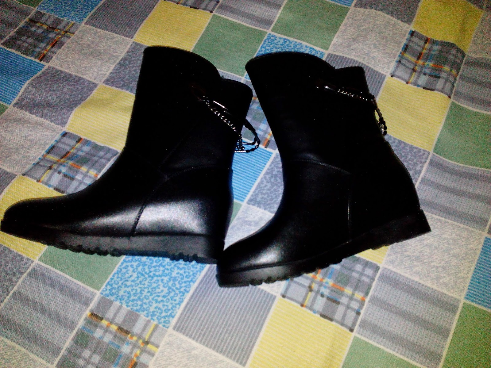 Black Leather Boots 3