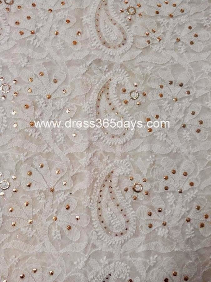 Pure Georgette Running Fabric 6.9 Meters