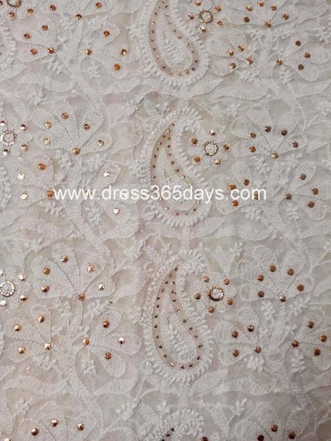 Pure Georgette Running Fabric 6.9 Meters