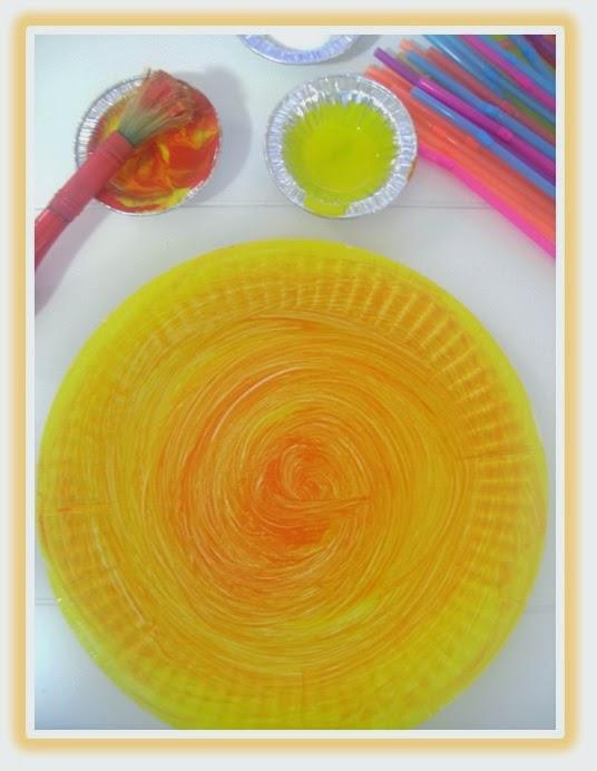 Paper Plate Sun Craft Tuesday Art Linky & Paper Plate Sun: Tuesday Art Linky - Clever Classroom Blog