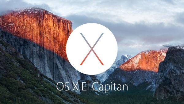 Apple Mac OS X 10.11 El Capitan