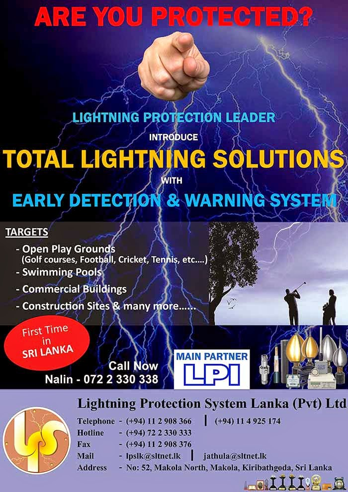 Lightning protection leader introduce total lighning solution with detection and warning system.