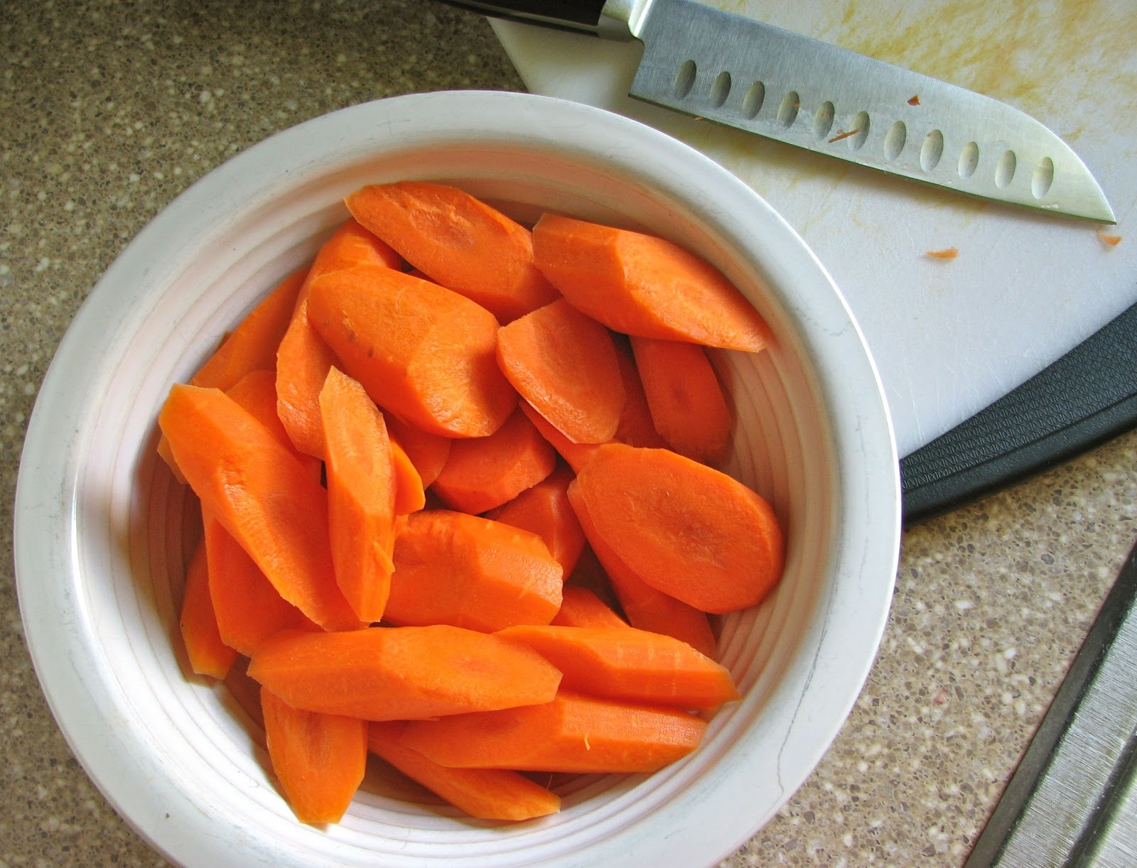 Delectably Mine Pan Roasted Carrots