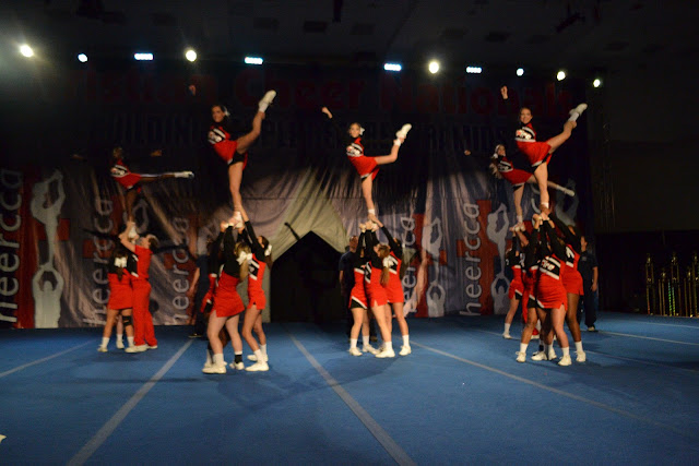 CCA Collegiate Cheer Nationals SEU performance