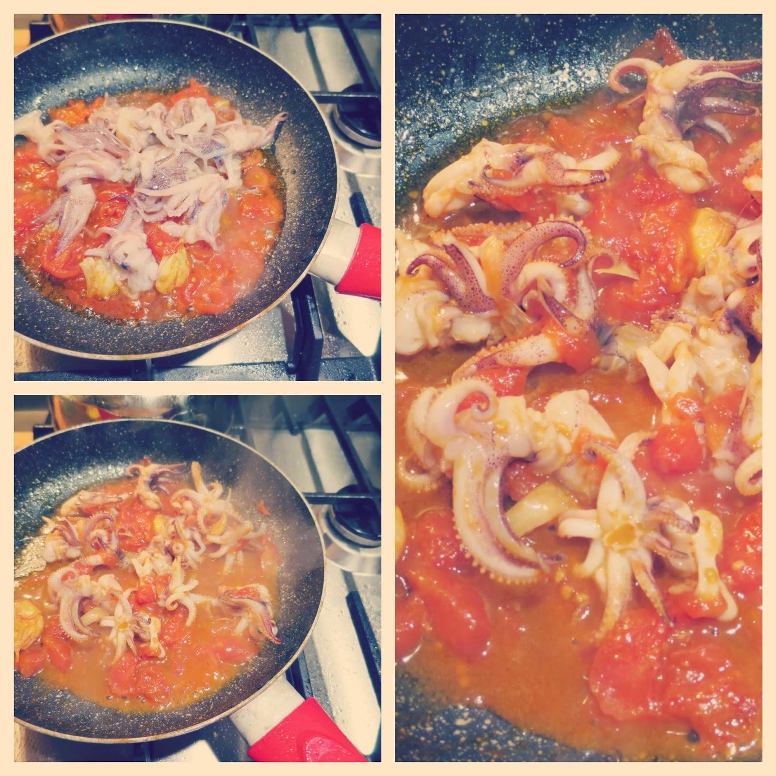 cottura calamaretti