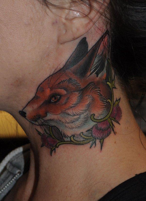 47 ideias de tatuagens para o pescoço
