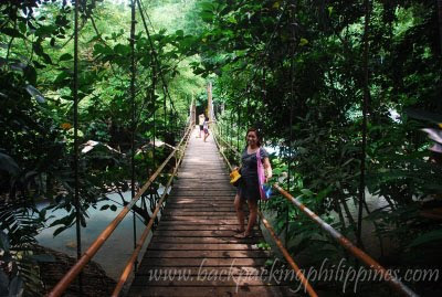 hanging bridge piit resort pangil laguna