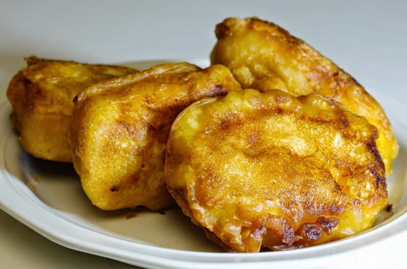 Fried Banana Cakes