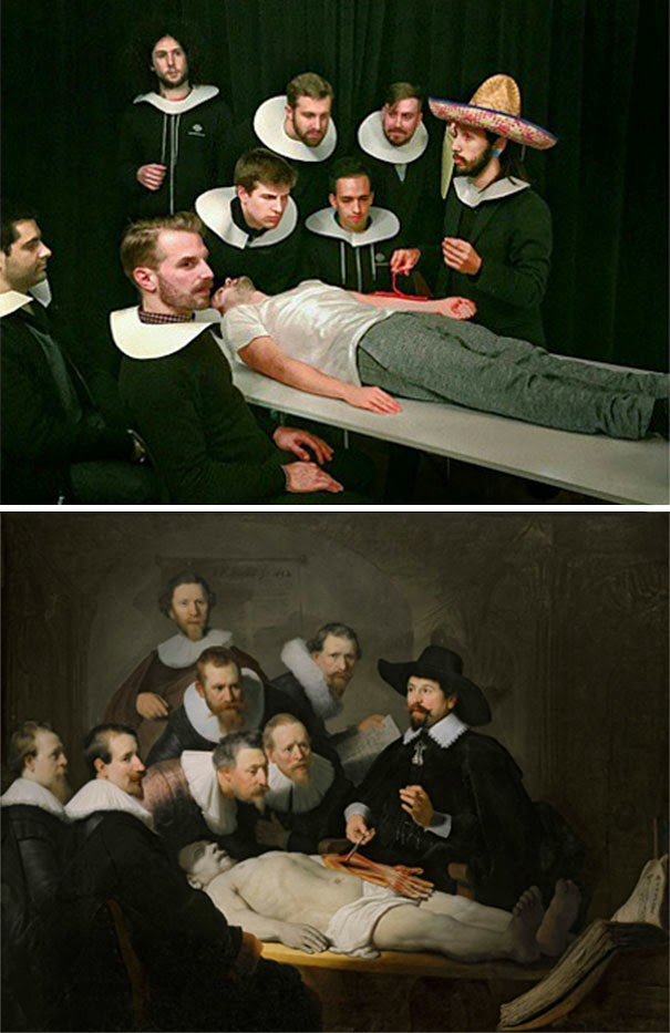 recreating famous artwork fools do art-10