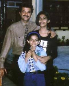 Sonam Kapoor Childhood